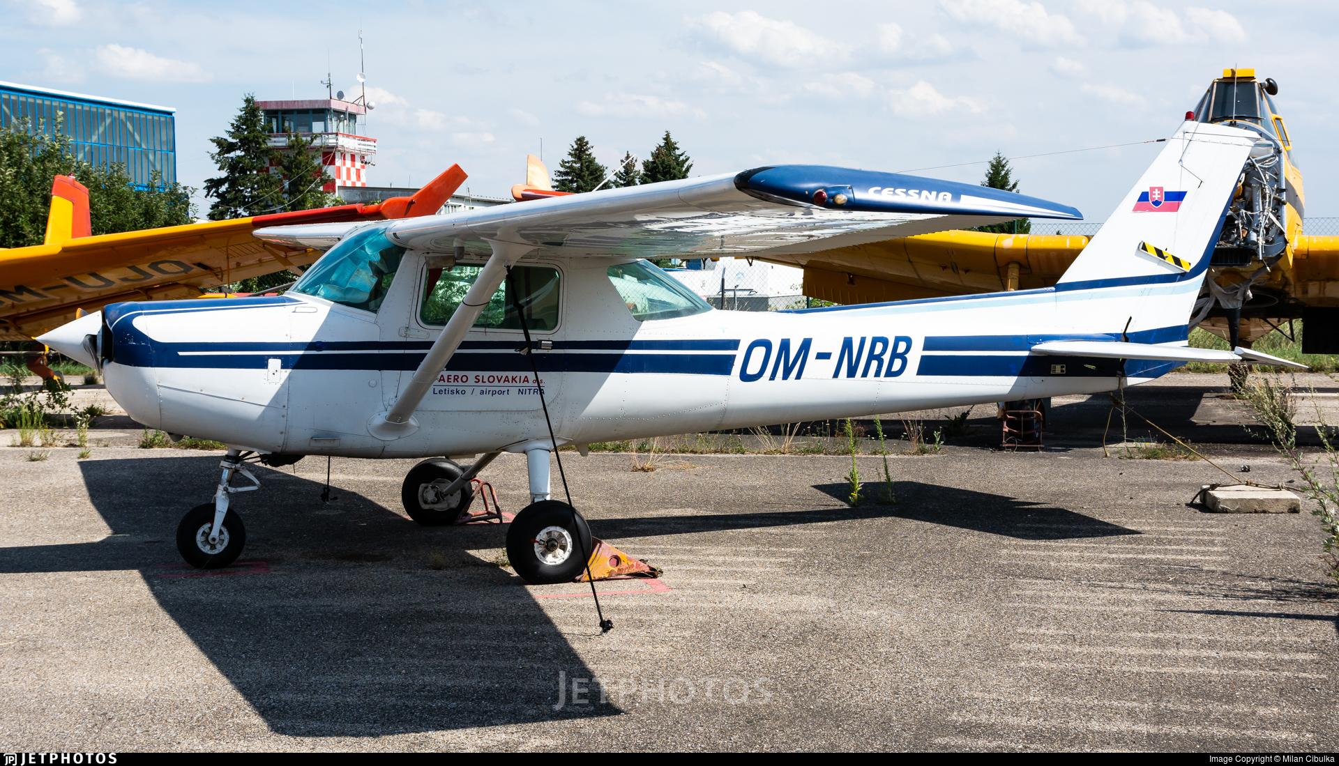 OM-NRB - Cessna 152 - Aero Slovakia