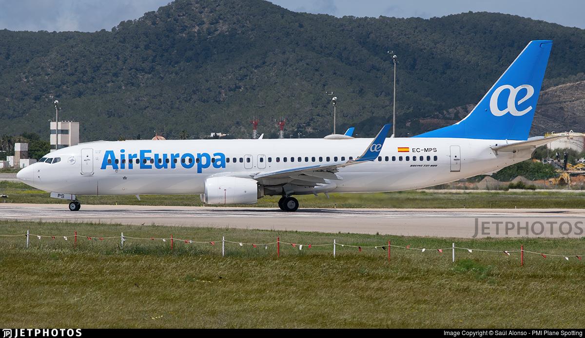 EC-MPS - Boeing 737-85P - Air Europa