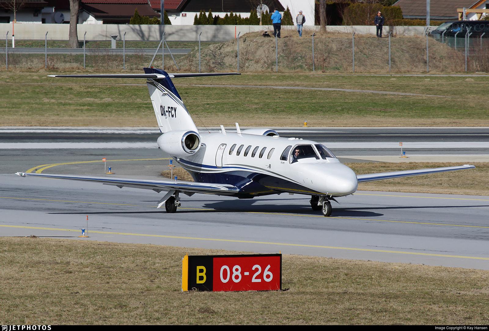 OK-FCY - Cessna 525A CitationJet 2 - Aeropartner