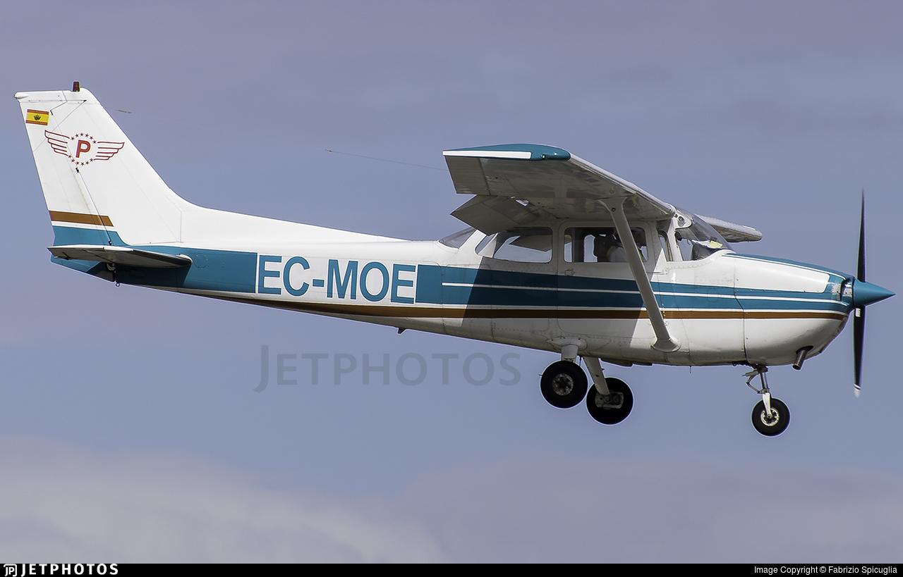 EC-MOE - Cessna 172N Skyhawk - Panamedia Escuela de Pilotos