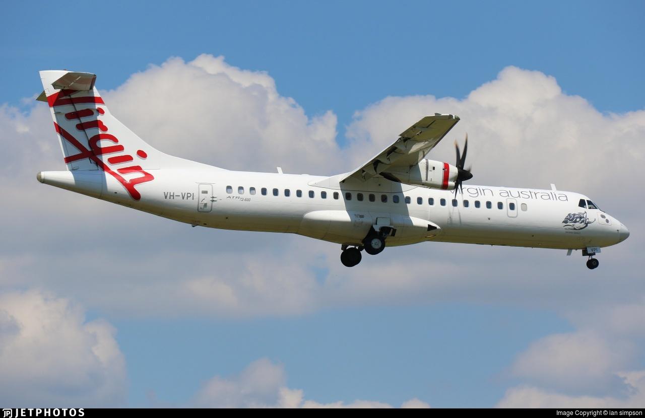 VH-VPI - ATR 72-212A(600) - Virgin Australia Regional Airlines