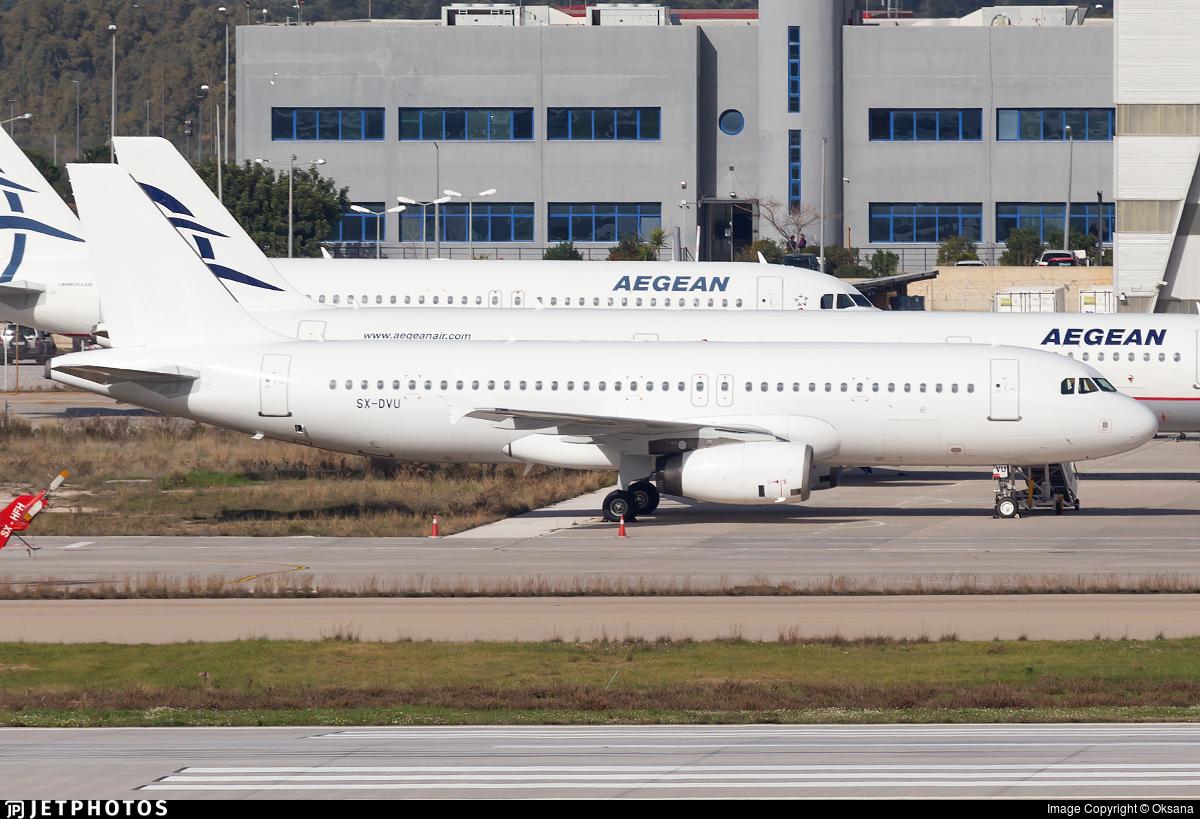 SX-DVU - Airbus A320-232 - Untitled