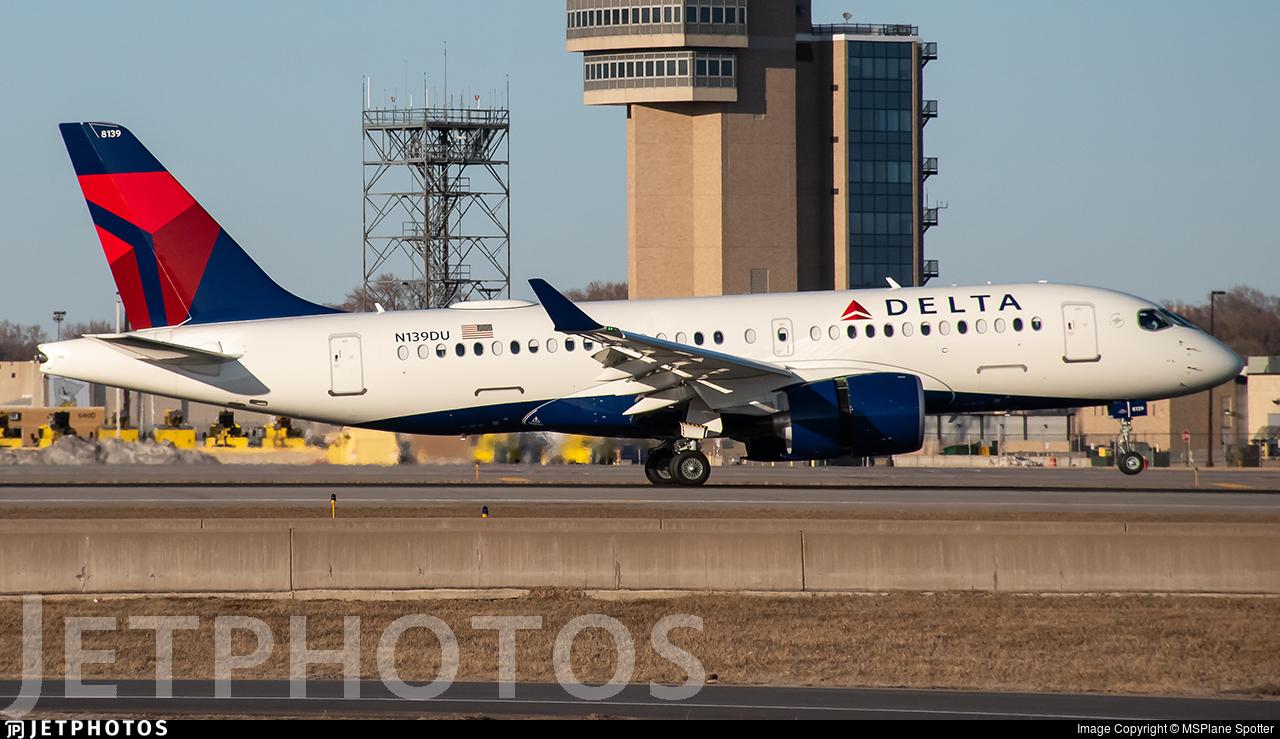 N139DU - Airbus A220-171 - Delta Air Lines