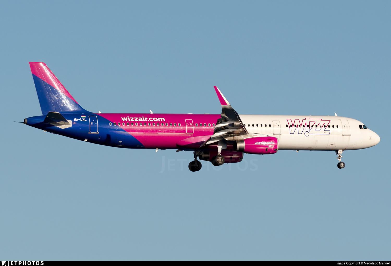 HA-LXL - Airbus A321-231 - Wizz Air