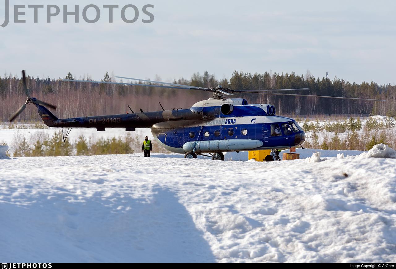 RA-24143 - Mil Mi-8T - Gazpromavia