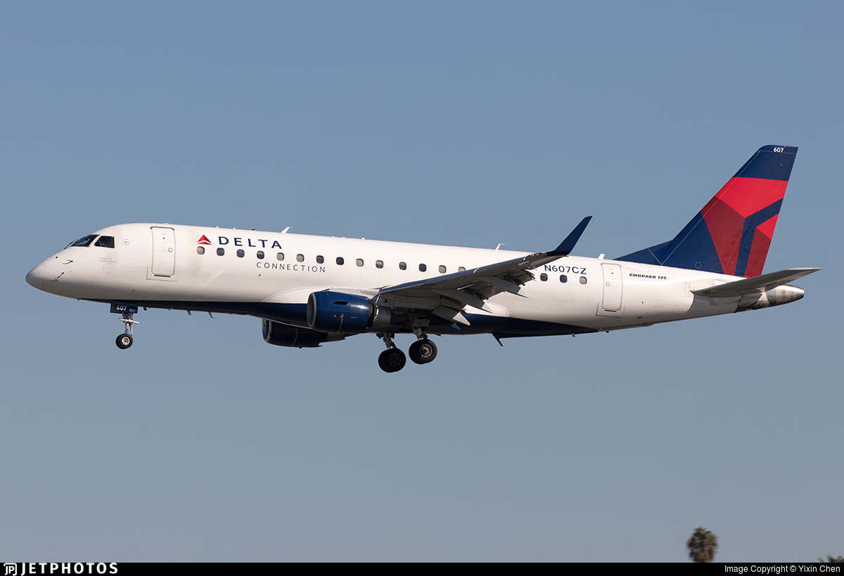 N607CZ - Embraer 170-200LR - Delta Connection (Compass Airlines)