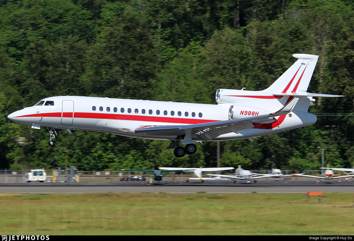 N988H | Dassault Falcon 8X | Honeywell Aerospace | Huy Do