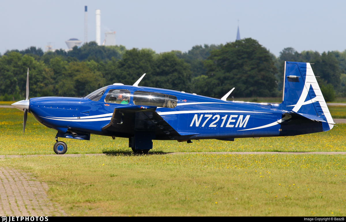 N721EM - Mooney M20TN Acclaim - Private