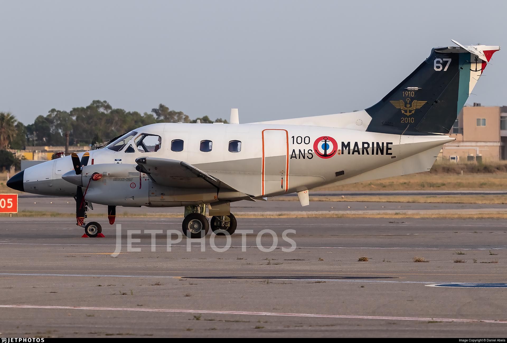 67 - Embraer EMB-121AN Xingú - France - Navy