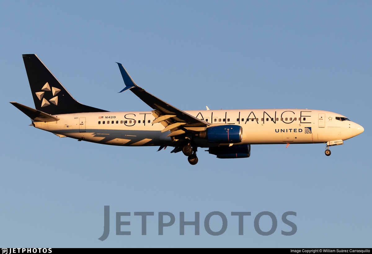 N14219 - Boeing 737-824 - United Airlines