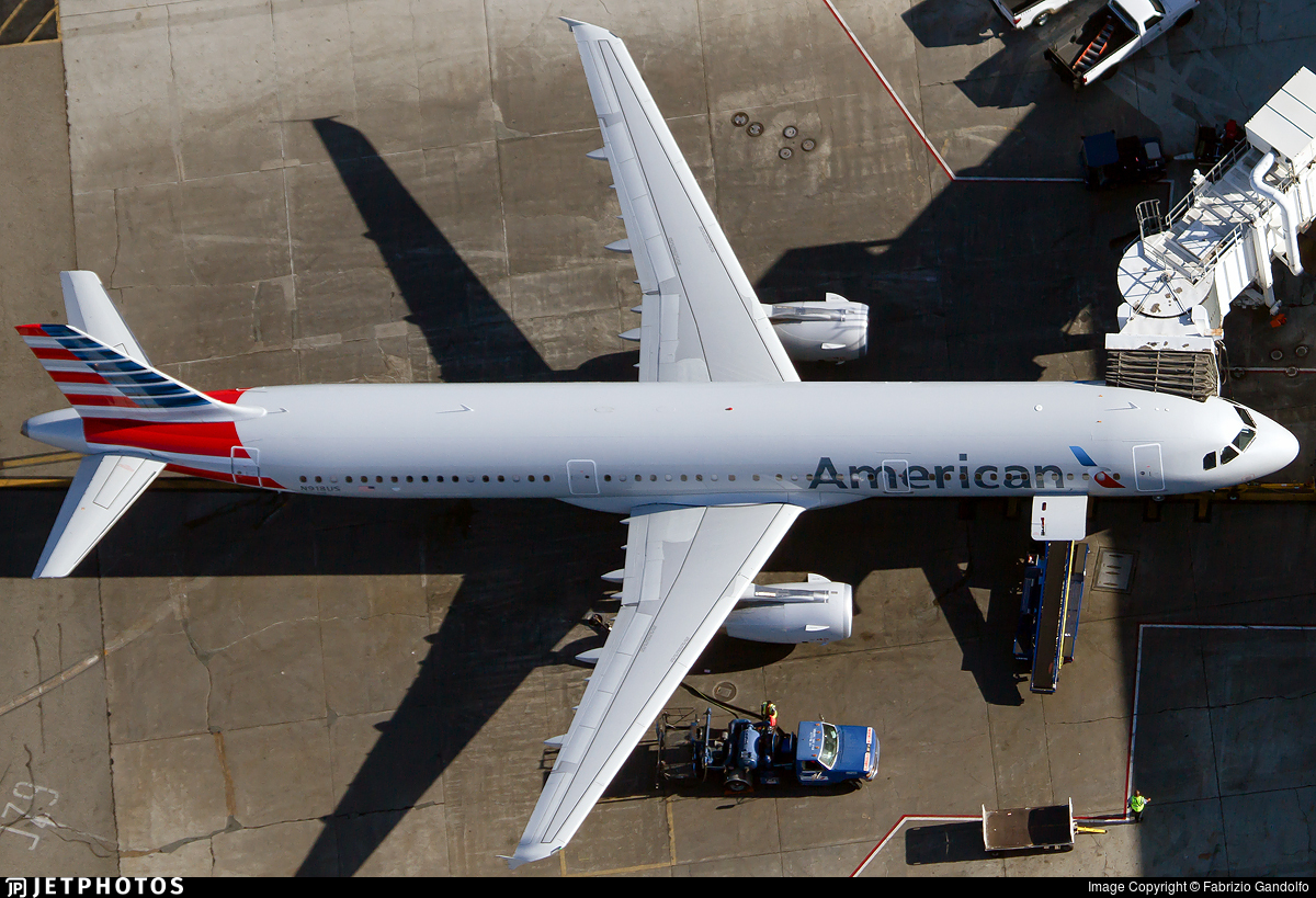 N918US - Airbus A321-231 - American Airlines