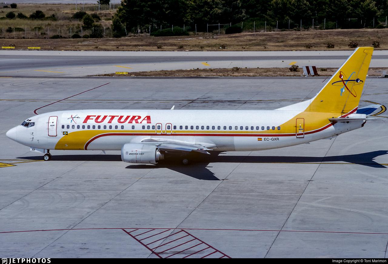 EC-GXR - Boeing 737-4Y0 - Futura International Airways