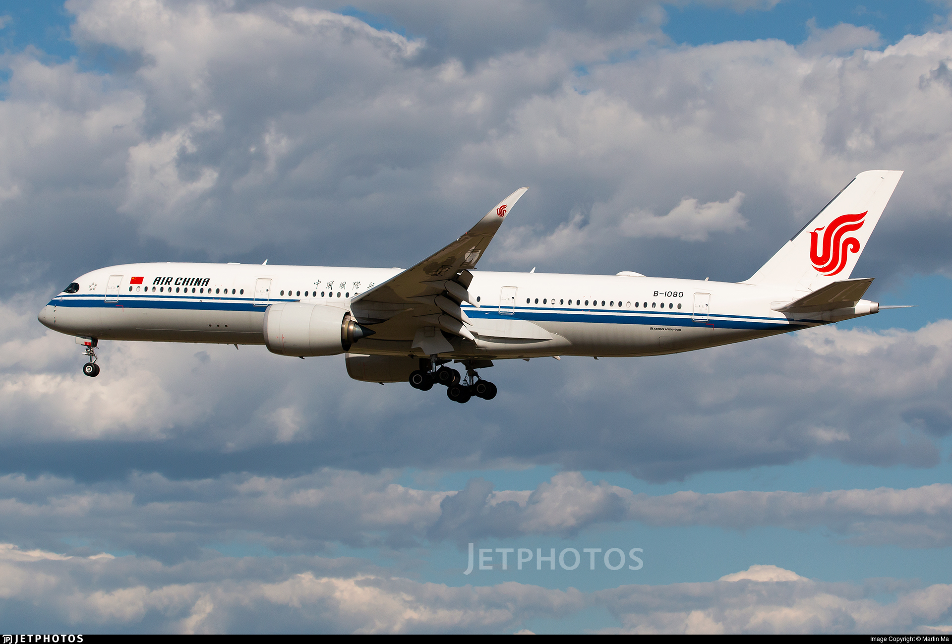 B-1080 - Airbus A350-941 - Air China