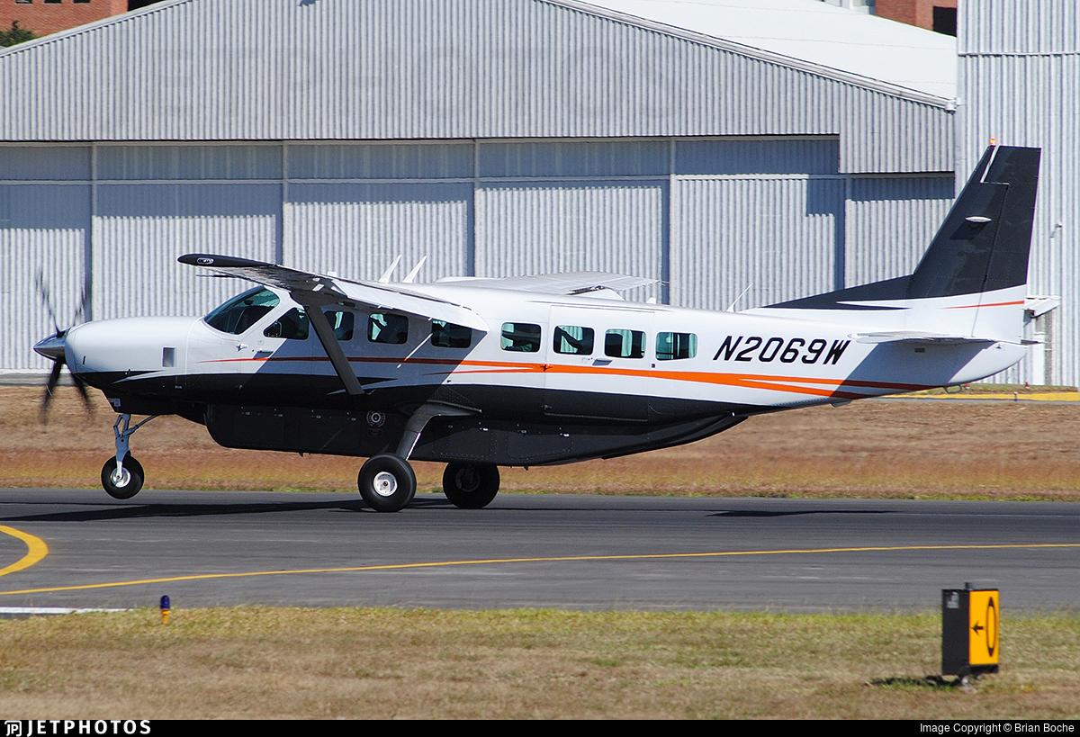 N2069w Cessna 208b Grand Caravan Ex Textron Aviation Brian Boche Jetphotos