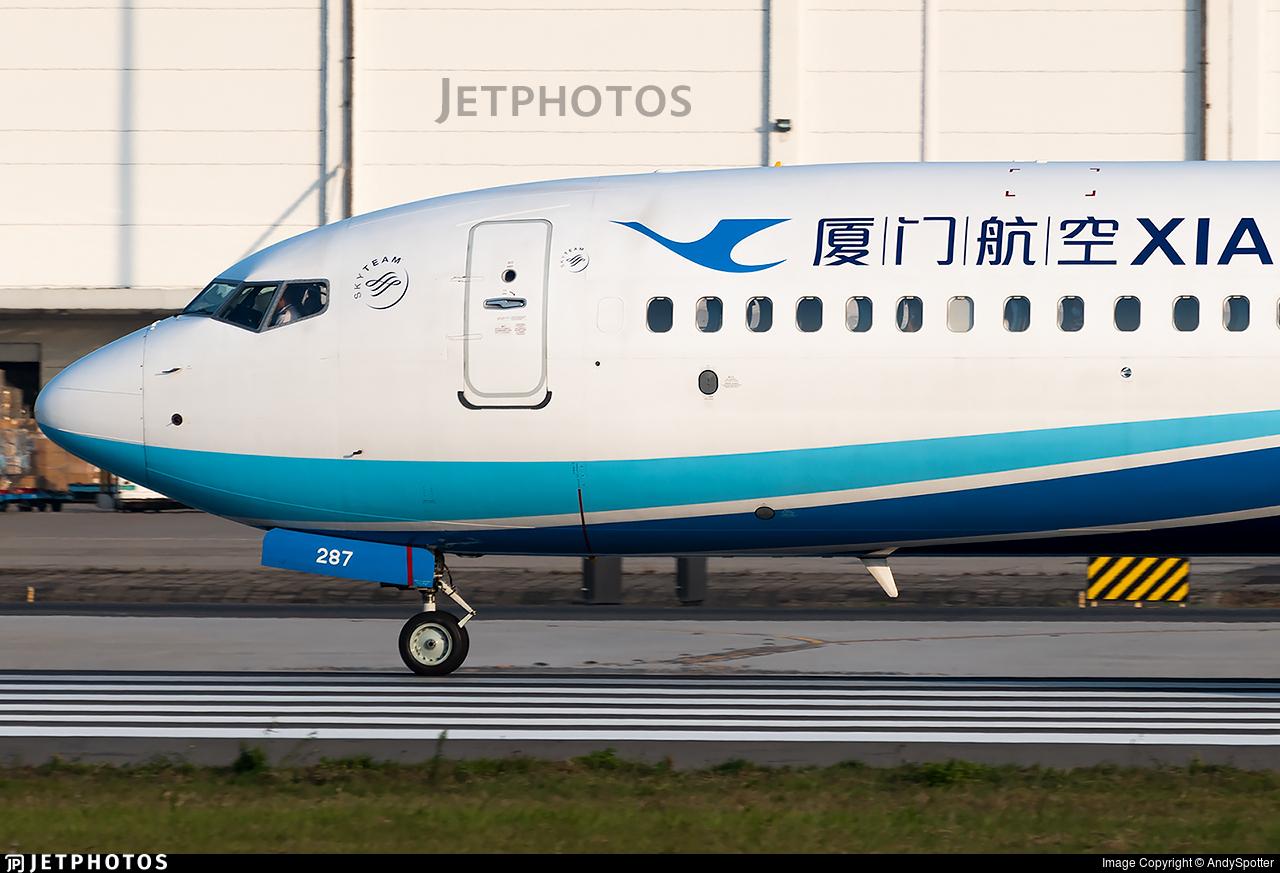 B-1287 - Boeing 737-85C - Xiamen Airlines