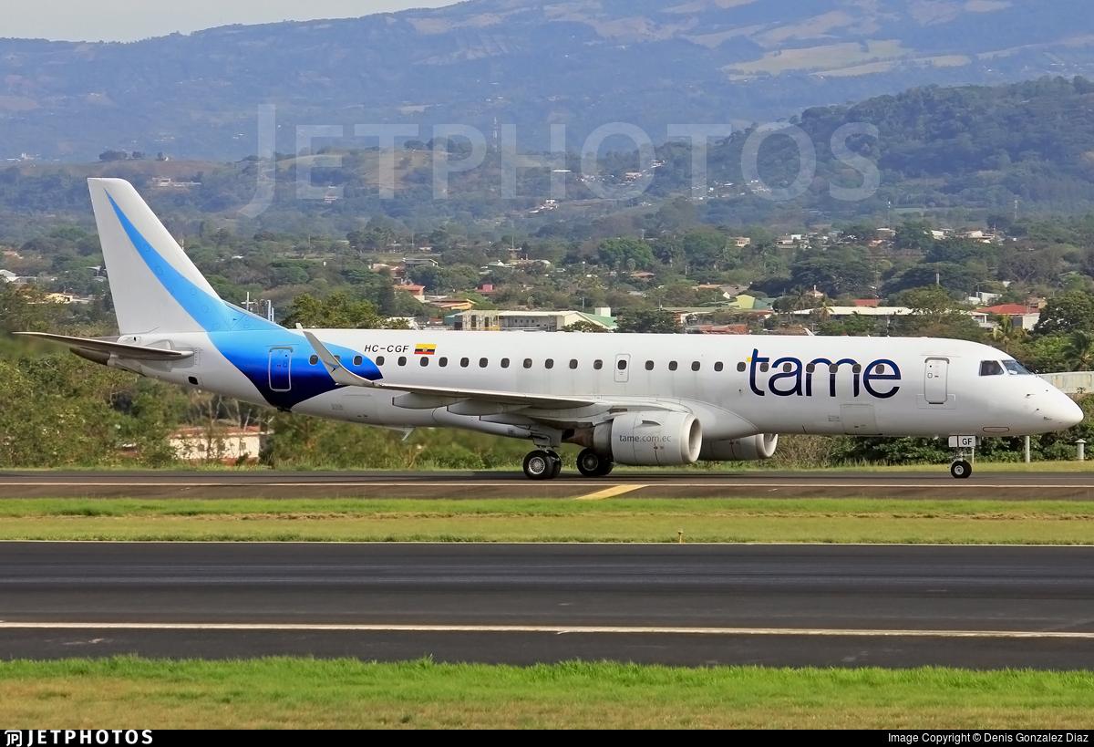 HC-CGF - Embraer 190-100LR - TAME Ecuador