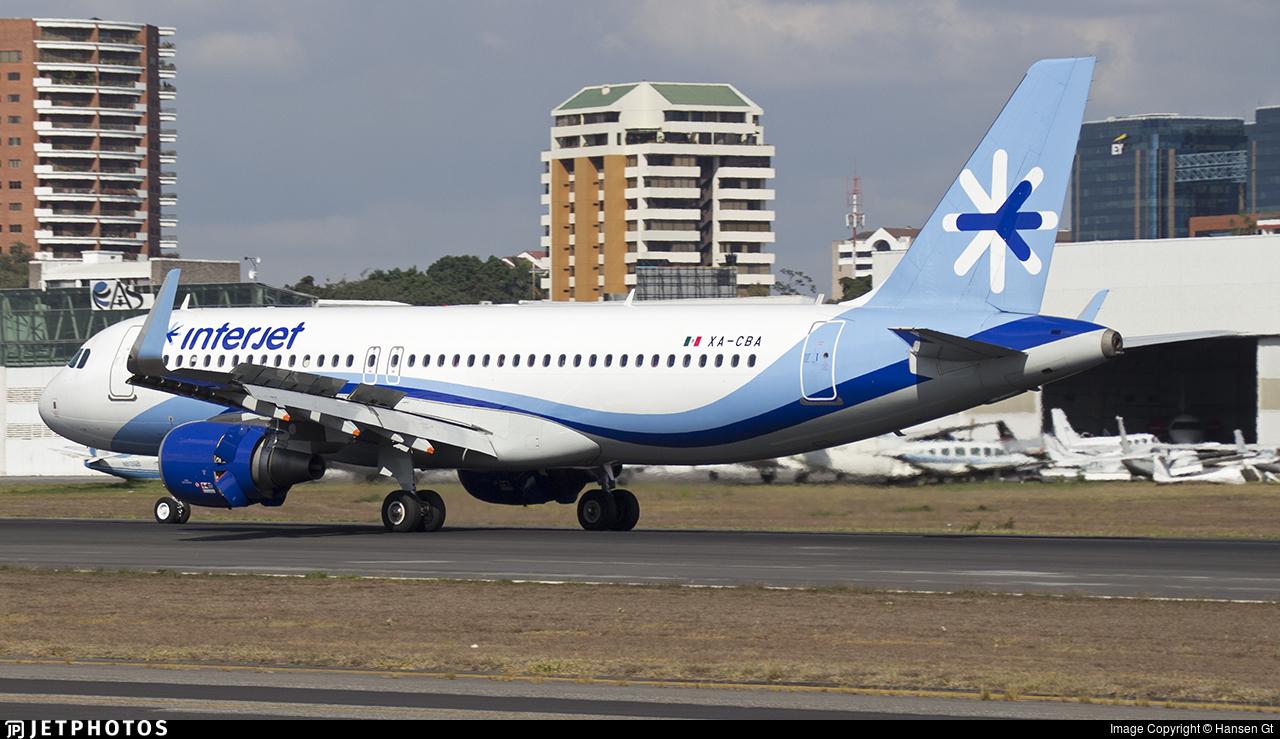 XA-CBA - Airbus A320-214 - Interjet