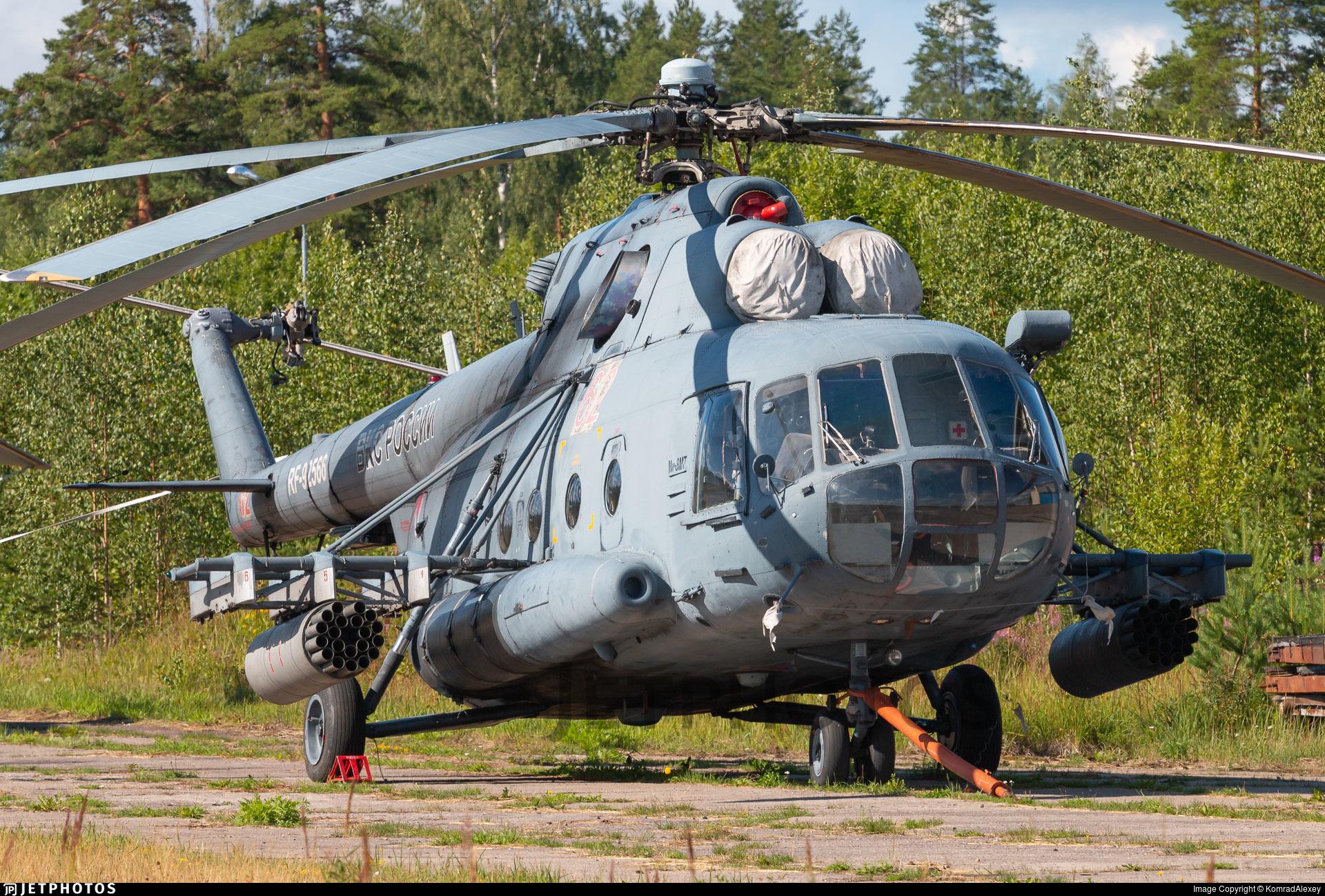 RF-92566 - Mil Mi-8MT Hip - Russia - Air Force