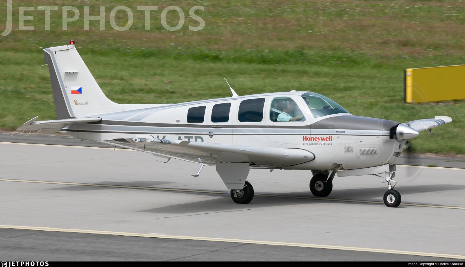 OK-ATB - Beechcraft B36TC Bonanza - Private