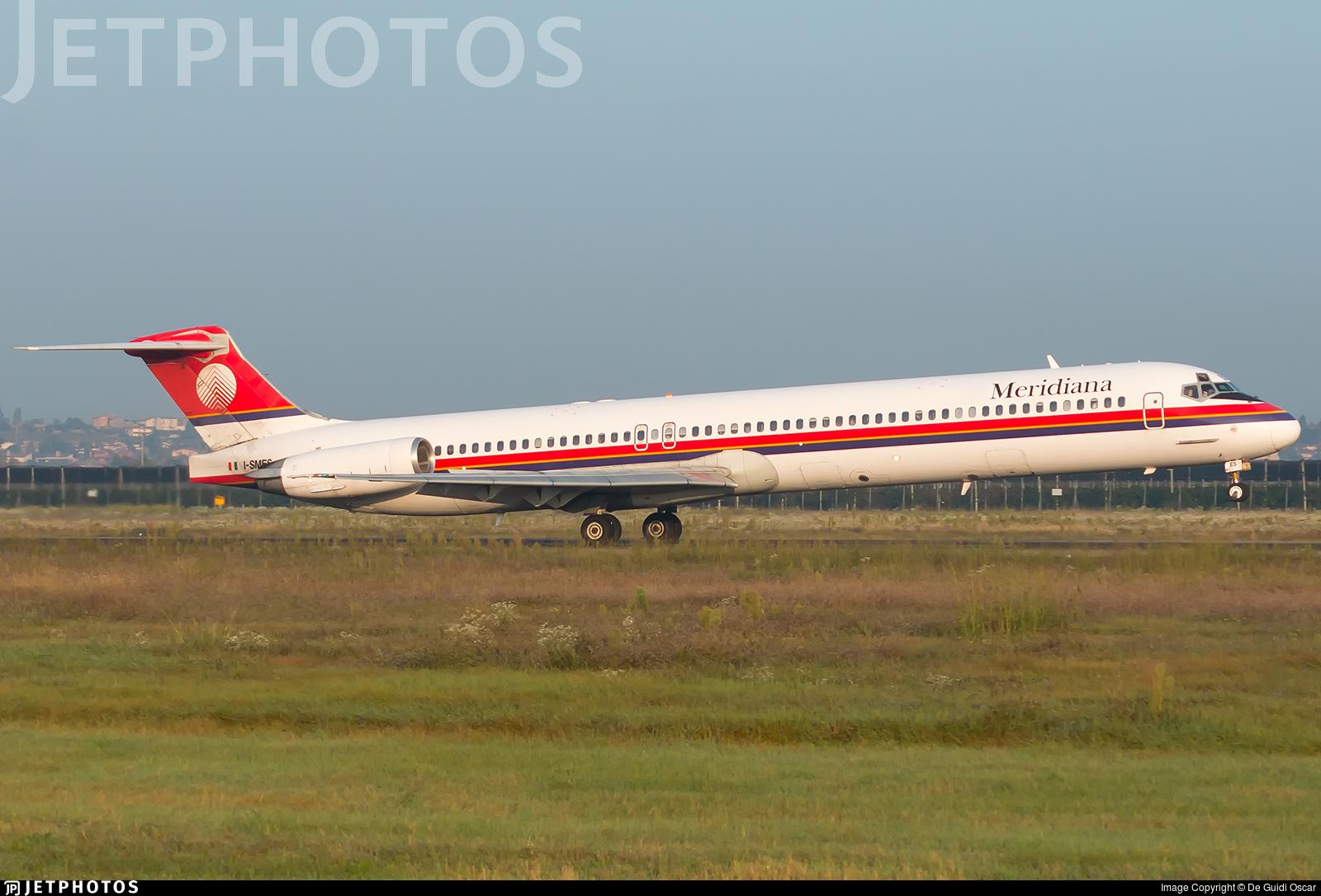 I-SMES - McDonnell Douglas MD-82 - Meridiana