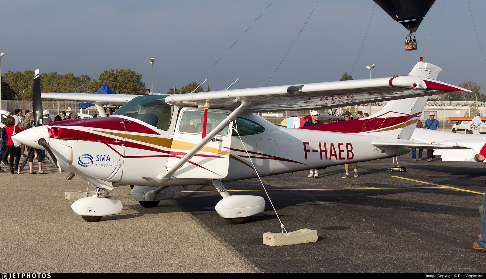 F-HAEB - Cessna 182R Skylane - Aero Club - Vauclusien