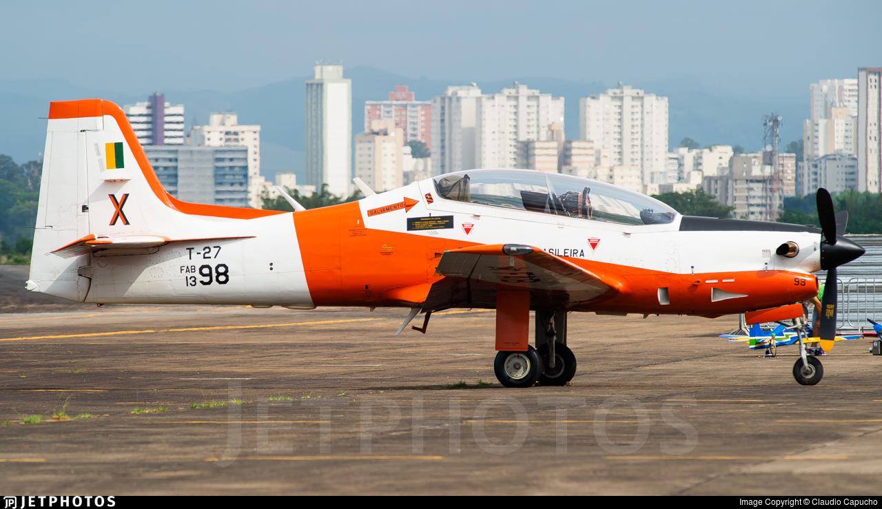 FAB1398 - Embraer EMB-312 Tucano - Brazil - Air Force
