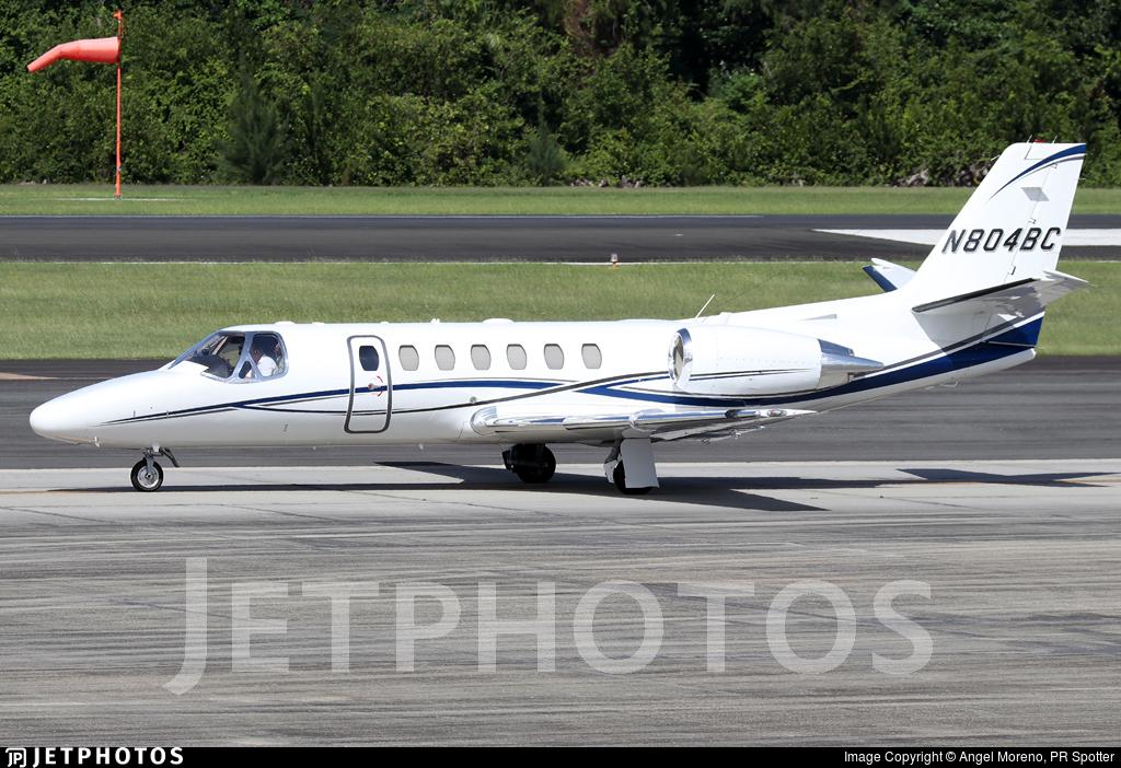 N804BC - Cessna 560 Citation Ultra - Private
