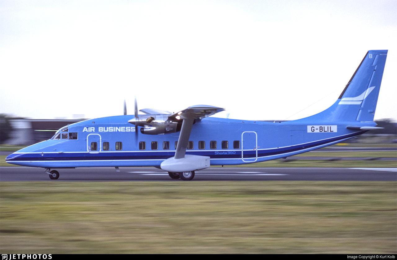 G-BLIL - Short 360-100 - Air Business