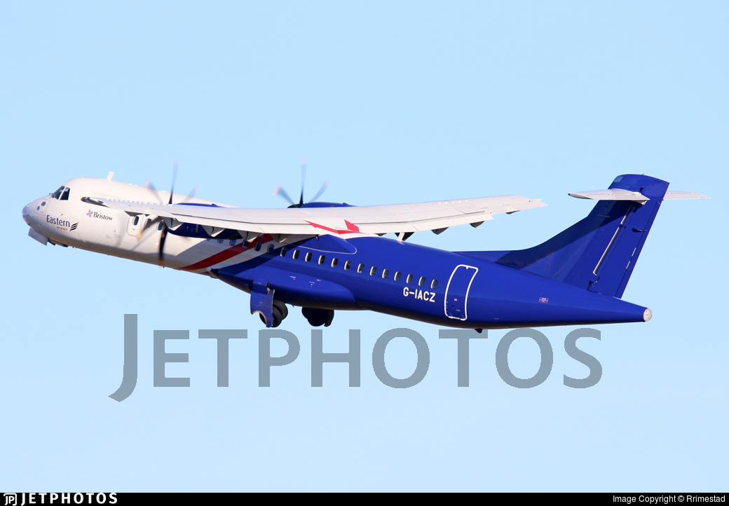 G-IACZ - ATR 72-212A(600) - Eastern Airways