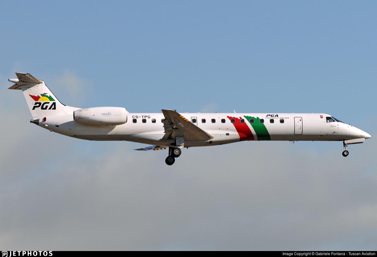 CS-TPG - Embraer ERJ-145EP - PGA Portugália Airlines