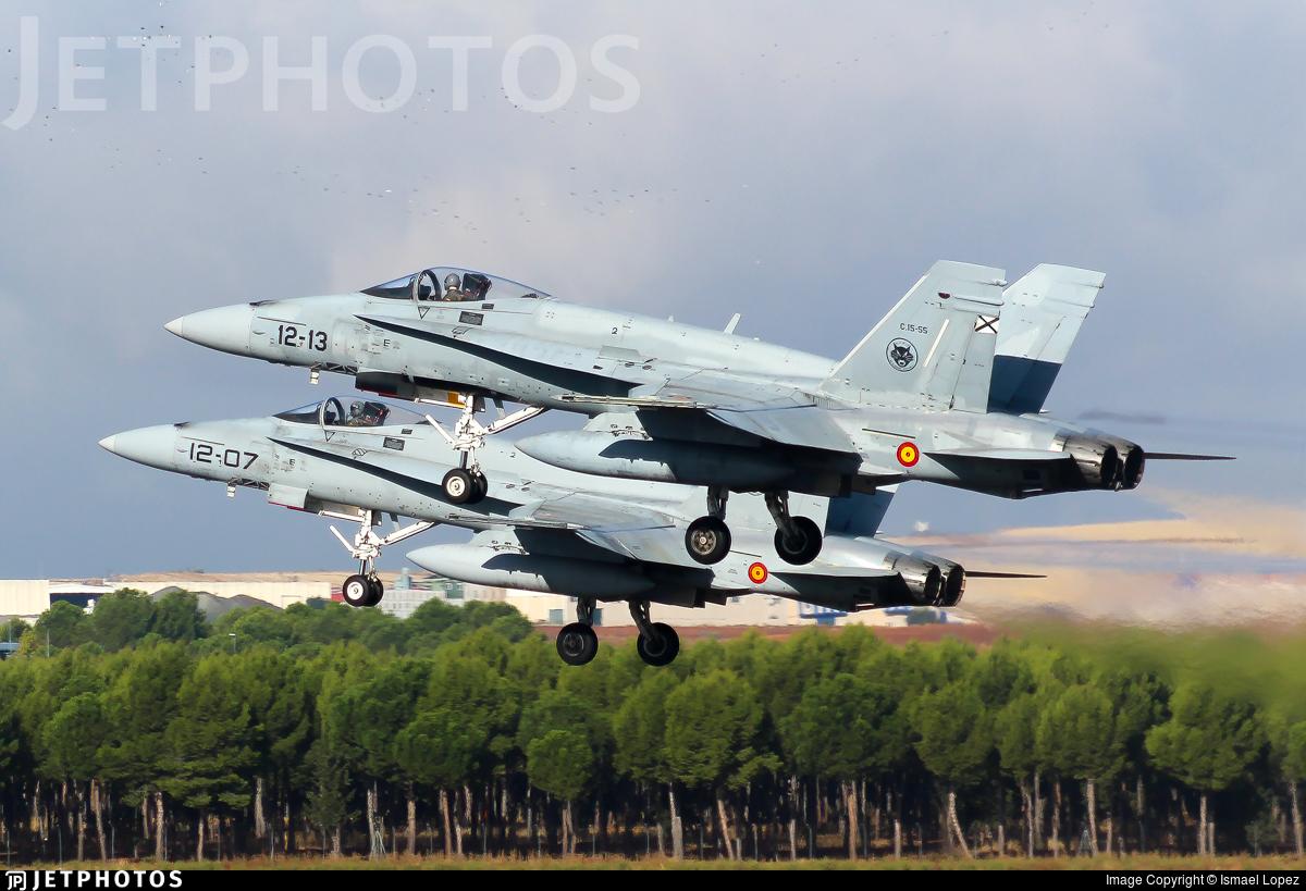 C.15-55 - McDonnell Douglas EF-18M Hornet - Spain - Air Force