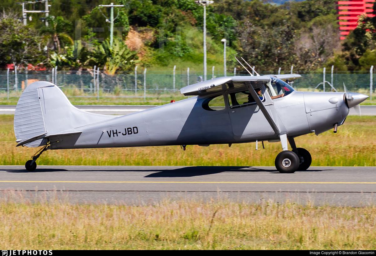 VH-JBD - Cessna 170A - Private