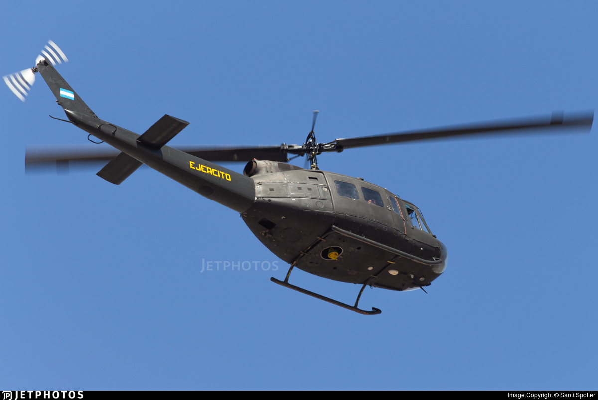 AE-459 - Bell UH-1H Iroquois - Argentina - Army