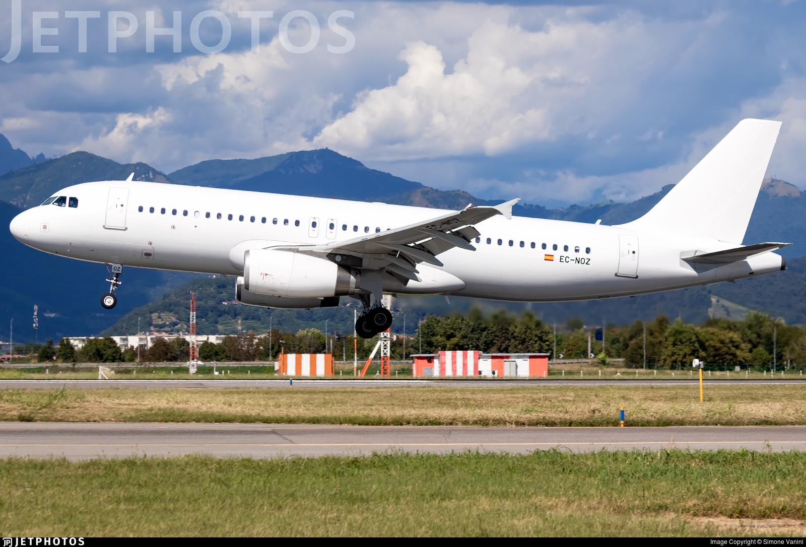 EC-NOZ - Airbus A320-232 - Aura Airlines