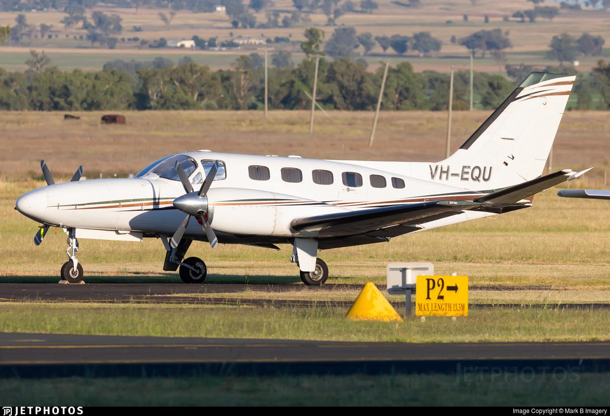 VH-EQU - Cessna 441 Conquest II - Private