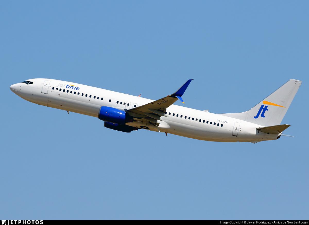 OY-JZM - Boeing 737-8K5 - Jettime