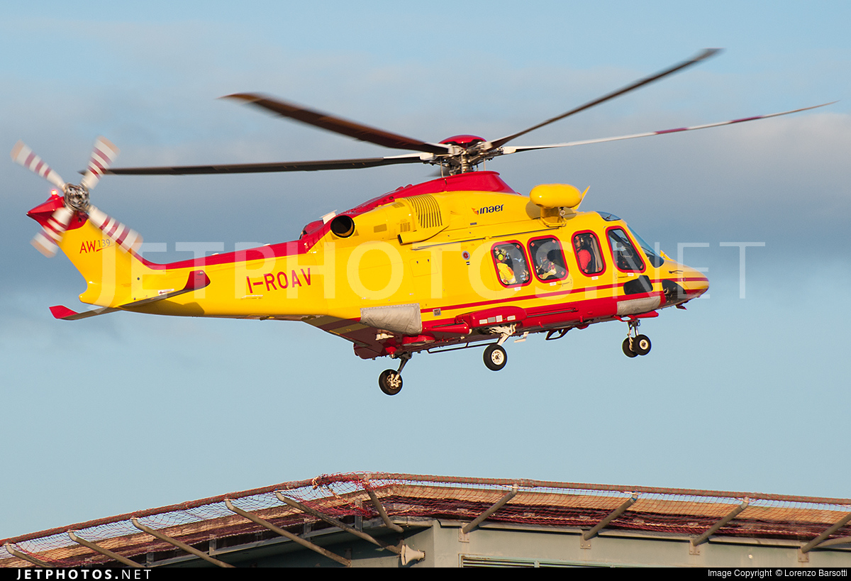 I-ROAV - Agusta-Westland AW-139 - Inaer