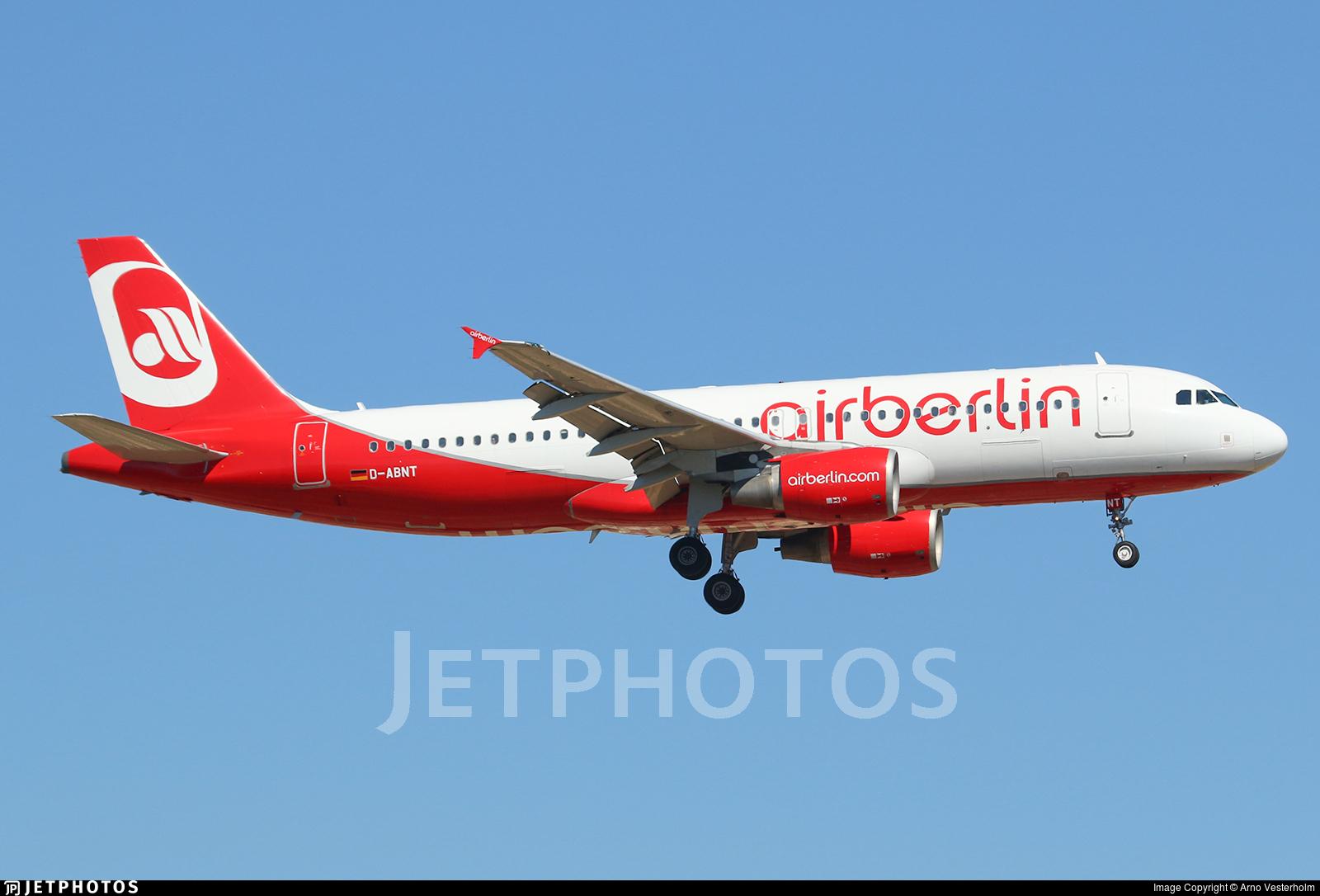 D-ABNT - Airbus A320-214 - Eurowings (Air Berlin)