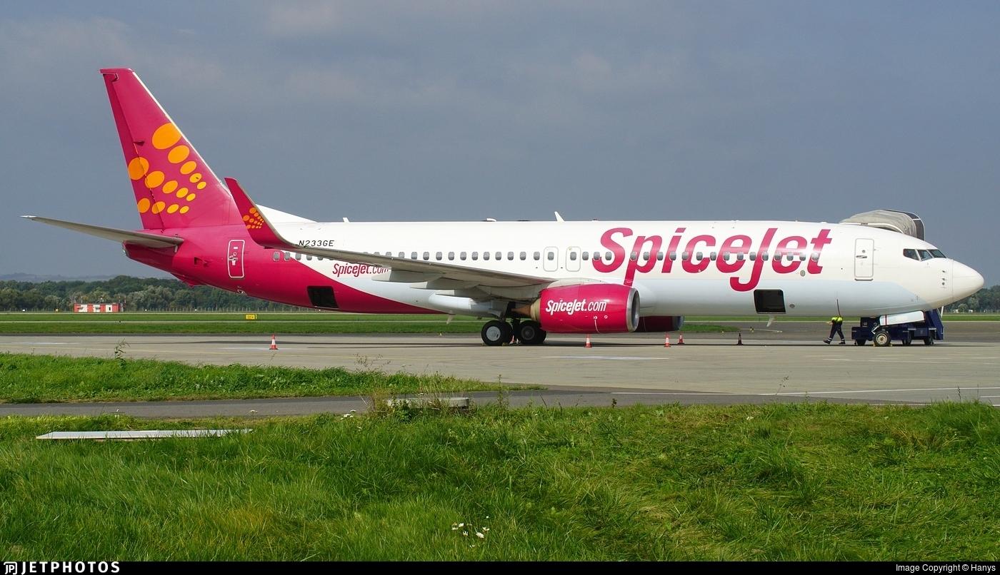 N233GE - Boeing 737-86N - SpiceJet