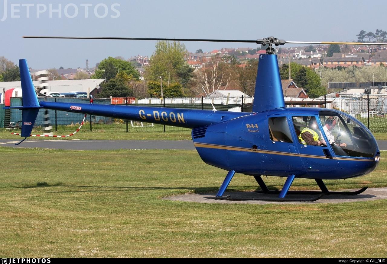 G-DCON - Robinson R44 Raven - Private
