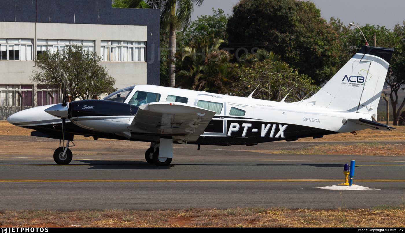 PT-VIX - Embraer EMB-810D Seneca III - Aero Center Brasil Táxi Aéreo