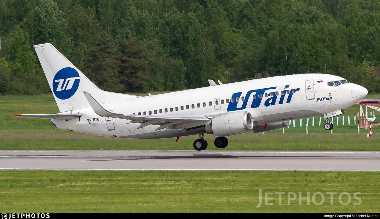 VP-BXQ - Boeing 737-524 - UTair Aviation