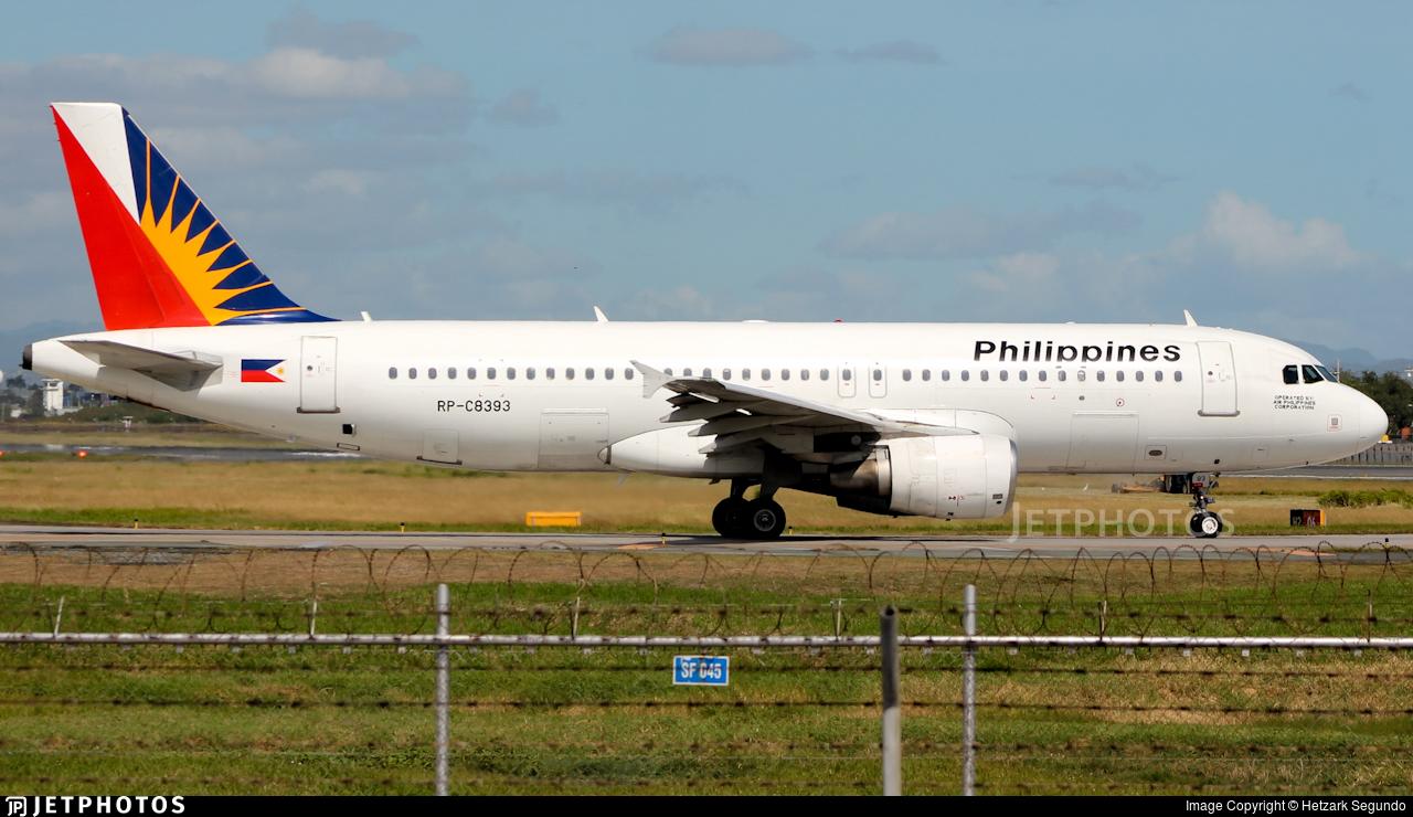 RP-C8393 - Airbus A320-214 - PAL Express