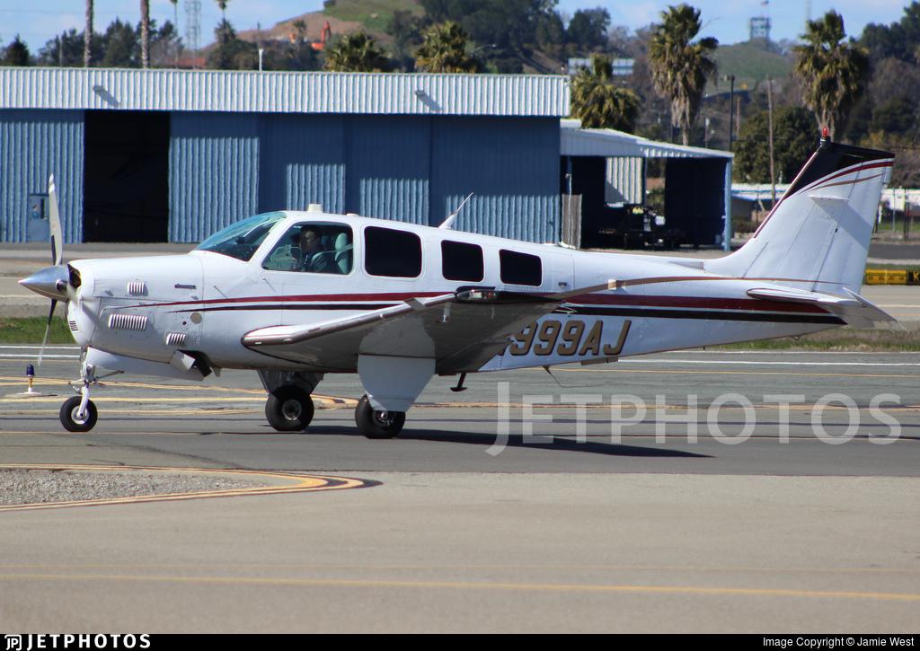 N999AJ - Beechcraft B36TC Bonanza - Private