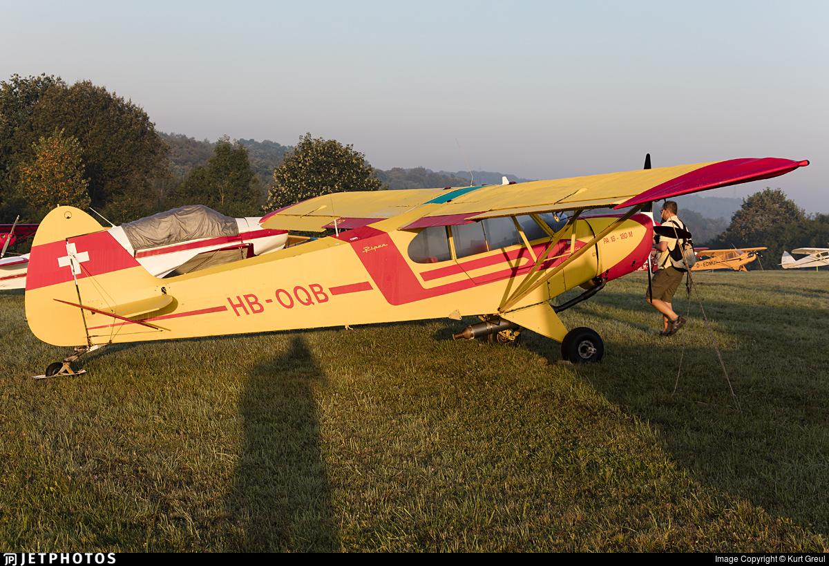 HB-OQB - Piper PA-18-180M Super Cub - Private