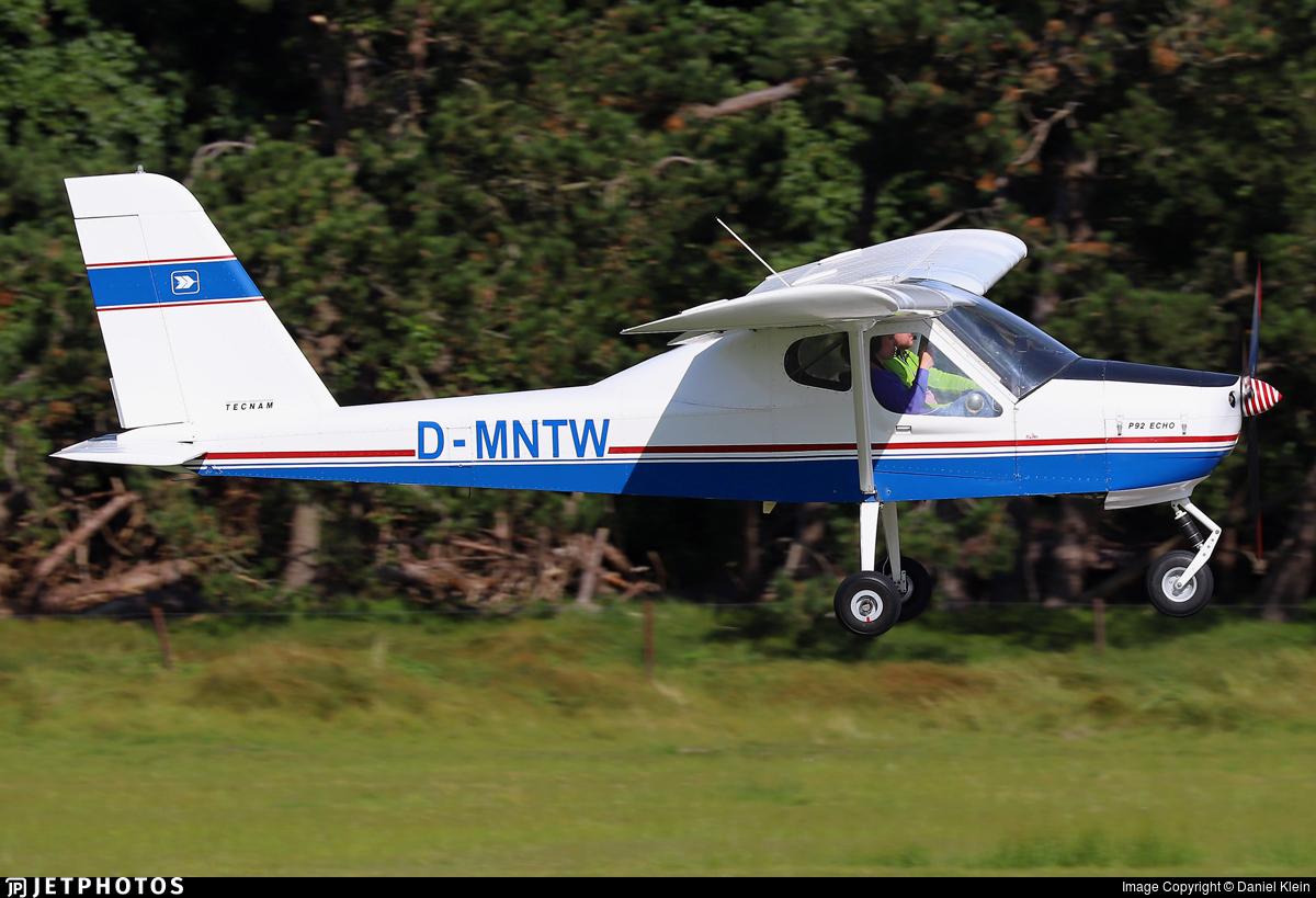 D-MNTW - Tecnam P92 Echo - Private