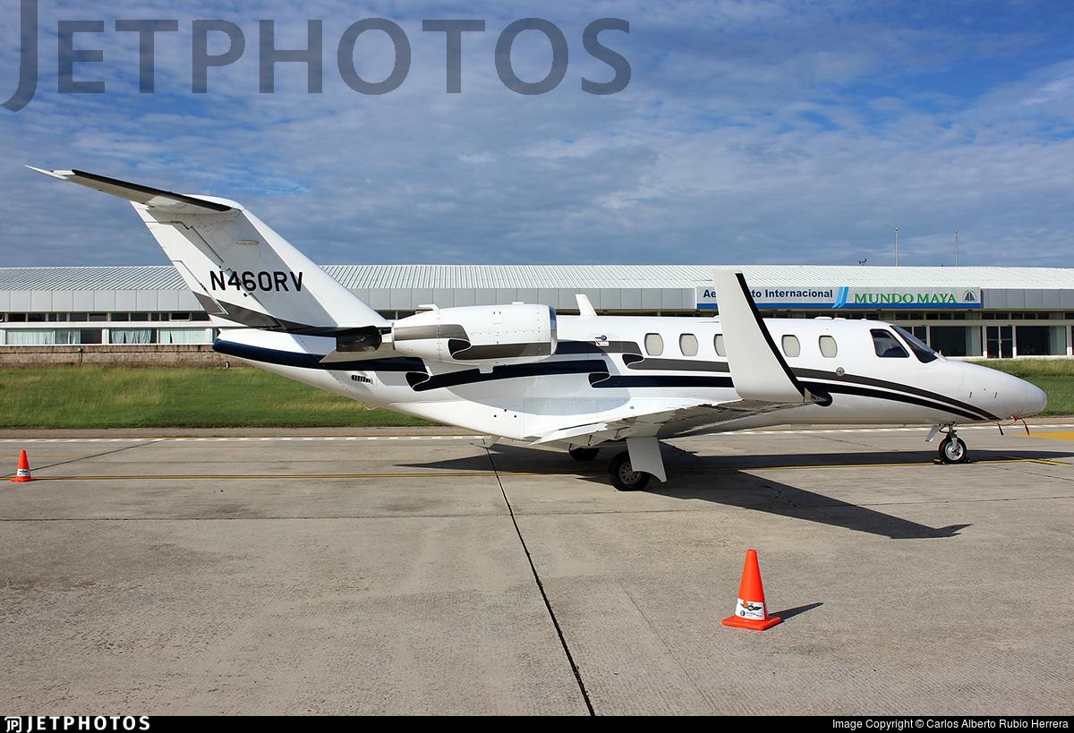 N460RV - Cessna 525A CitationJet CJ2 - Private