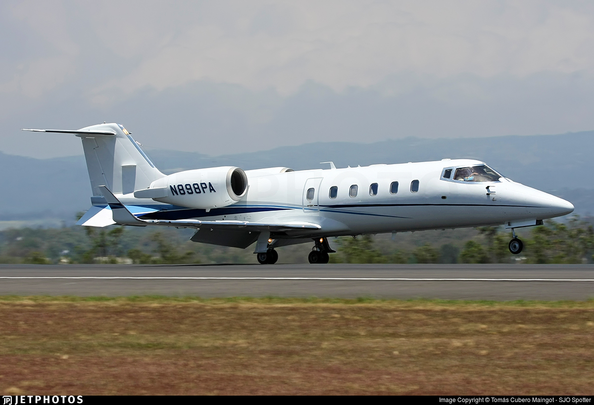 N898PA - Bombardier Learjet 60 - Private