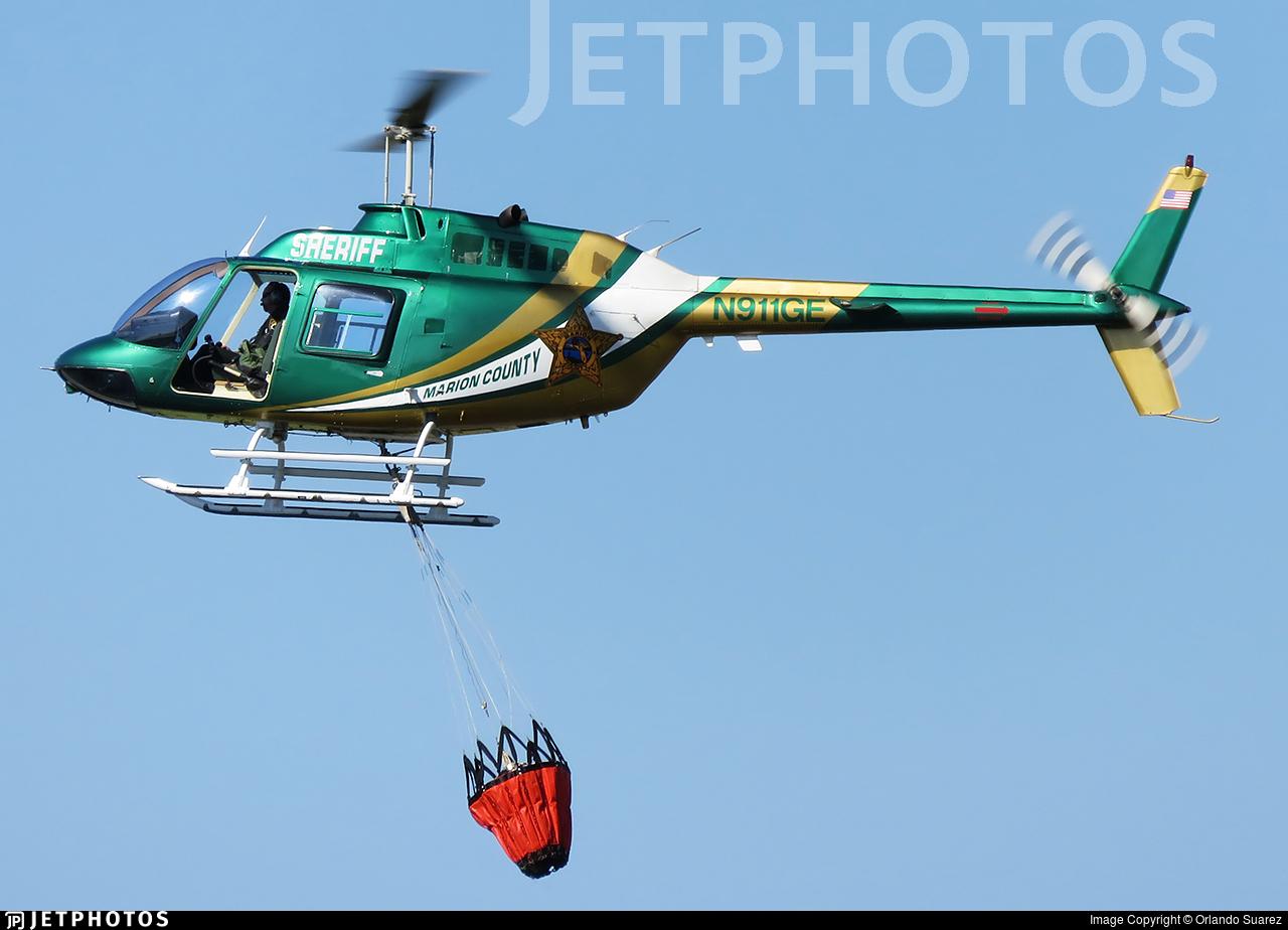 N911GE   Bell 206B-3 JetRanger III   United States - Marion