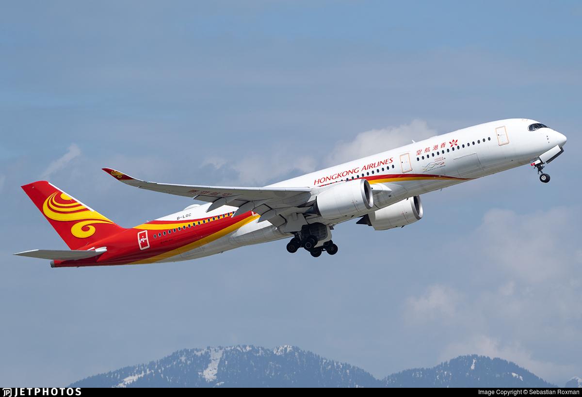 B-LGC - Airbus A350-941 - Hong Kong Airlines